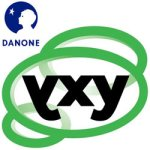 Logo Danone en Avantium yxy