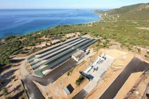 Centrale Myrthe op Corsica