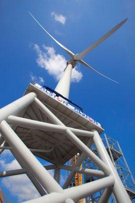 De Alstom Haliade 150 windturbine