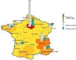 PdC fotonica in Frankrijk met aantallen werknemers