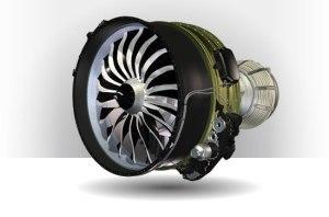De toekomstige turbofan motor CFM Leap-1B