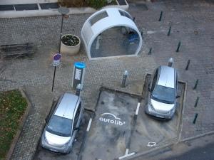 Autolibstation in Suresnes. Copyright: Copyleft