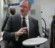 Pascal Mauberger, ex-Siemenstopman CEO McPhy - Bron: L'Usien Nouvelle