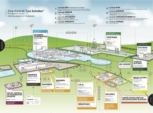De biorefinery van Pomacle-Bazancourt, Frankrijk.
