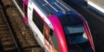 Regionale trein met PV dak