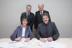 Signature MoU entre le CSTB et TNO