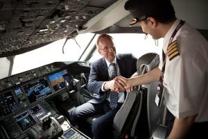 Minister Kamp bezoekt Paris Air Show Le Bourget op 19 juni 2013