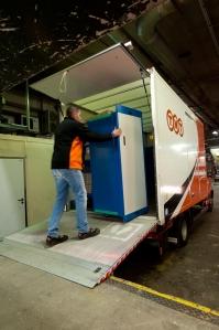 Groot Lyon Bentobox Lyon in vrachtwagen