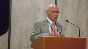 Prof. Johan Sanders nam namens de WUR deel aan het congres