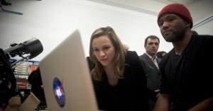 Staatssecretaris voor de Digitale Economie Axelle Lemaire op de CES