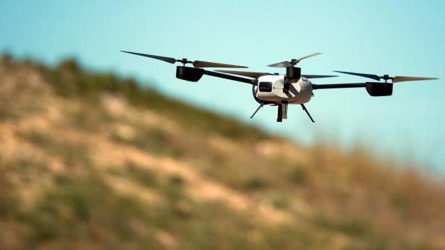 Drones in Parijs